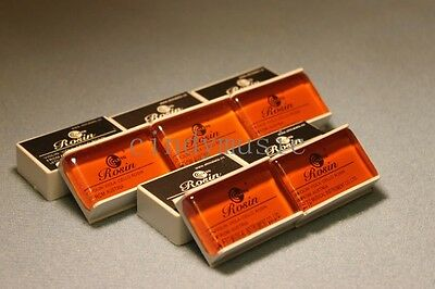 5PCS Rosin to suit all bow types-Violin / Viola / Cello /NEW