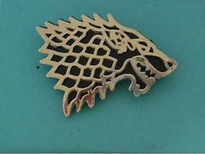 Game Of Thrones Stark Button Pin Spilla Badge Trono Di Spade Robb Ned Dvd Tv 2