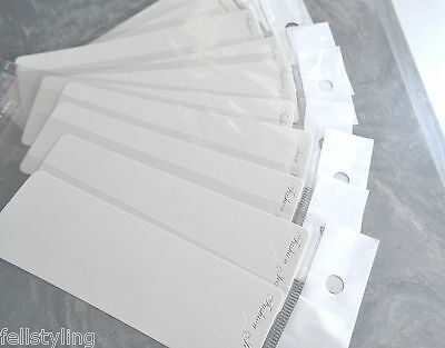 Jewellery Display Cards with Clear Cellophane Sleeves -buy 25 to 500 (D.37)