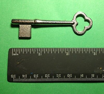 New Skeleton Key for Old Doors Antique Furniture Locks or Crafts - ILCO 1B