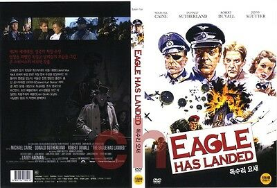 The Eagle Has Landed (1976) - Michael Caine, Donald Sutherland DVD NEW