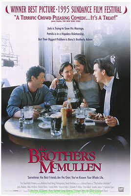 THE BROTHERS MCMULLEN MOVIE POSTER Original DS 27x40 EDWARD BURNS 1995