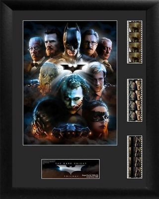 Batman The Dark Knight Trilogy Triple Limited Edition Filmcell