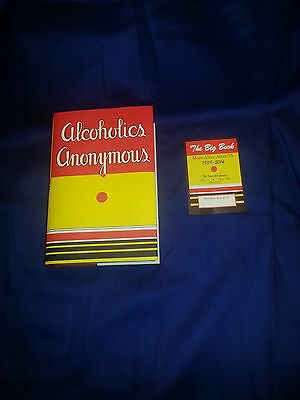 Alcoholics Anonymous 1st Edition Big Book 75th Anniversary Book Plate