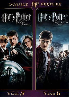 Harry Potter and the Order of the Phoenix/Harry Potter and the Half-Blood...