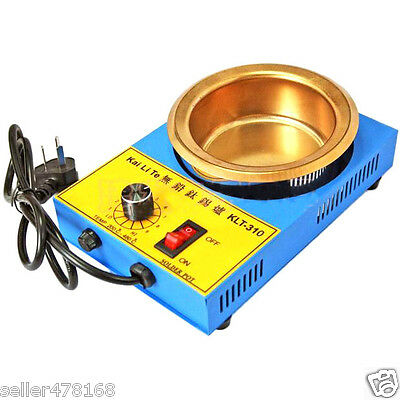AC 220V 300W 100MM Solder Pot 1200g tin melting Furnace Titanium FREE SOLDERING