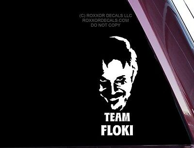 Team Floki from Vikings TV show - FUNNY - DIE CUT Decal / Sticker (A-69)