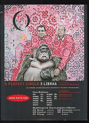 A Perfect Circle (6) Ads for Upcoming Singles (Judith 3 Libras The Hollow) Tool