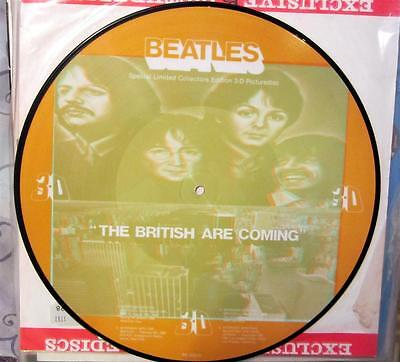 Limited Picture Disc 3-D Edition Vinyl / The Beatles  / Rarität /