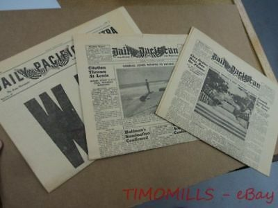 1948 Daily Pacifican Philippines US Military Newspaper Voice of America Radio