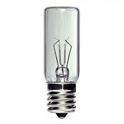 60 Watt Halogen Light Bulb Lamp JCD50//CL//G9 T4 Looped Pin G9 Base Plusrite 3418