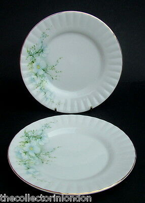 TWO Vintage 1980's Royal Stafford Blossom Time Side or Bread Plates 16cm in VGC
