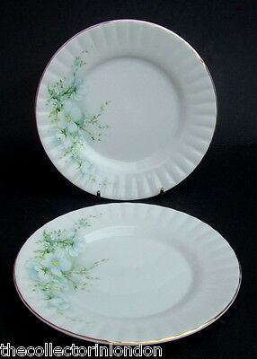 Vintage 1980's Royal Stafford Blossom Time Side or Bread Size Plates 16cm in VGC