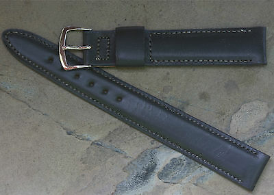 Long Calfskin rare size 1950s/60s vintage NOS watch band 11/16 17.3mm wide ends