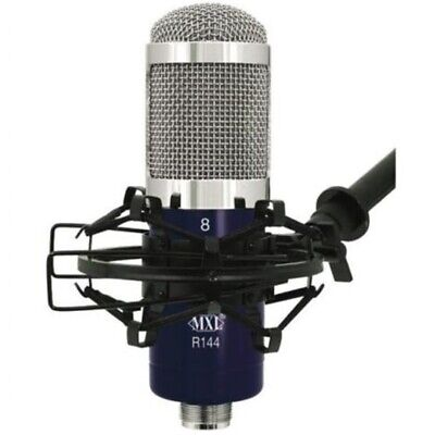 MXL R144 Ribbon Microphone Studio Mic with Shockmount and Case Vocal Instrument
