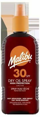 Malibu Dry Oil Spray SPF 30 High Protection Very Water Resistant 200ml