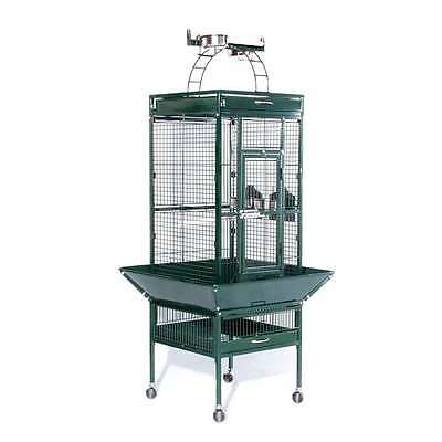 Prevue Hendryx Wrought Iron Select Cage Jade Green - 3151GRN