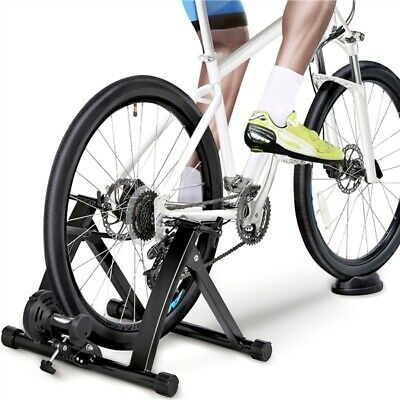 Bicycle Magnetic Turbo Cycle Trainer Indoor Exercise Bike Resistance Training