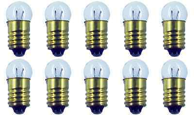 Box of 10 Bulbs #458 1.5 V, 0.3 W, E10 Base, G-3.5