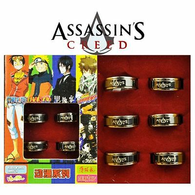 Assassin's Creed 2 3 4 Anello Ring Cosplay Ezio Auditore Altair Edward Kenway #2