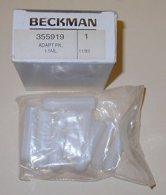 Beckman - Catalog #355919, Adapt Pk., 1.5ml tubes - Twelve (12) - NEW