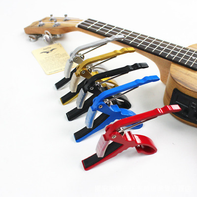 Quick Change Clamp Key Capo For Acoustic  Electric Guitar Guitar Capo NEW