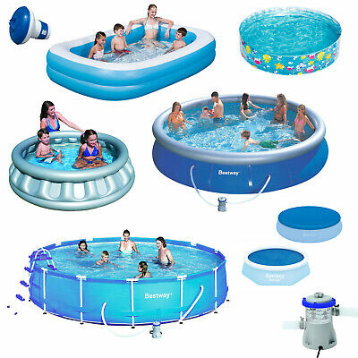 Paddling pools outdoor toys activities toys games for Garden inflatable swimming pool