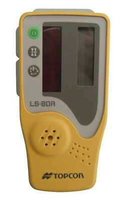 Topcon LS-80A Laser Receiver Sensor Detector with Holder 6