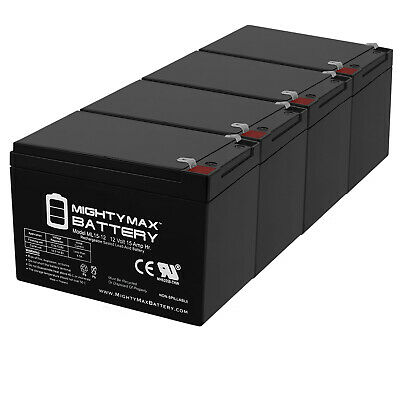 Mighty Max Battery 12V 12Ah Compatible Battery for UPS APC BP1100-10 Pack Brand Product