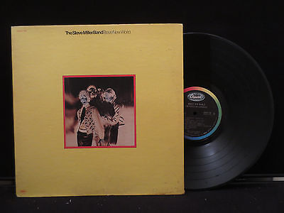 The Steve Miller Band - Brave New World on Capitol Records SKAO 184 Gate Fold