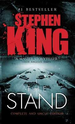 The Stand by Stephen King (English) Mass Market Paperback Book Free Shipping!