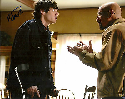 RJ MITTE 'BREAKING BAD' WALTER WHITE JR SIGNED 8X10 PICTURE *COA 4