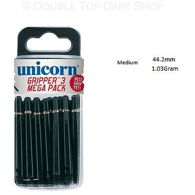 15 x Sets Unicorn Gripper 3 / Three Dart Stems / Shafts - Mega Value Pack