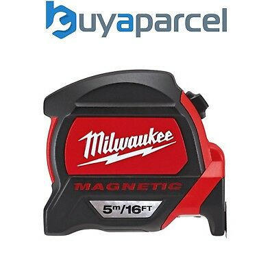 Milwaukee 48225216 Metric and Imperial 5m 16ft Magnetic Tape Measure