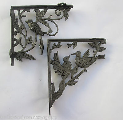 Cast Iron Ornate Fancy vintage Shelf Support Book Sink Toilet Cistern Bracket