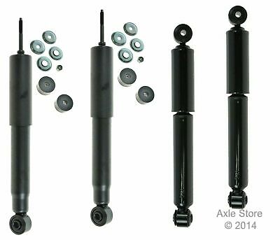 4 New Shocks Full Set Ltd Lifetime Warranty Fit Ram1500 2500 4WD Free Shipping