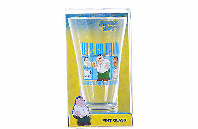 New Official Family Guy Gift Set Presents Family Guy Pint Glass Peter Griffin