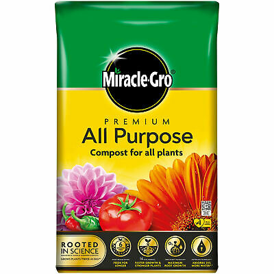 50Ltr Scotts Miracle Gro All Purpose Enriched Compost