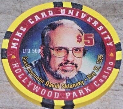 $5 Ltd Edt 1999 Gaming Chip From The Hollywood Park Rasino, Ca.