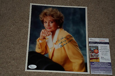 """Barbara Walters Signed Autographed 8X10 Photo """"The View"""" Jsa Certified"""