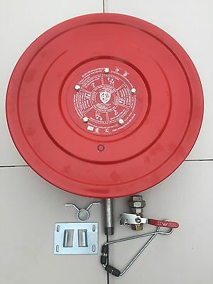 New Heavy Duty Fire Hose Reel 36 Meter 19mm ID Hose Free Delivery Australia Wide