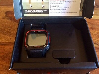 NEW Polar RC3 BLK N GPS without Heart Rate, Black