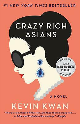 Crazy Rich Asians by Kevin Kwan (English) Paperback Book Free Shipping!