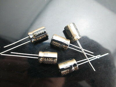 6378 5pcs ELNA SILMIC II 100uF//6.3V Audio Electrolytic Capacitors