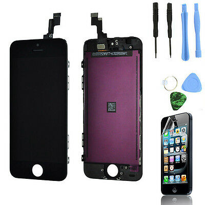 Black Touch Screen Digitizer + LCD Display Assembly for iPhone 5C Replacement US