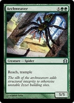 MTG Magic RTR - (4x) Archweaver/Tisseuse d'arche, English/VO