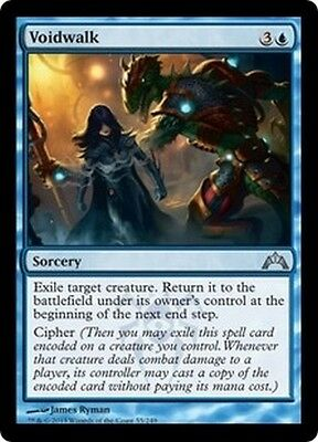 MTG Magic GTC - (4x) Voidwalk/Marcheneant, English/VO