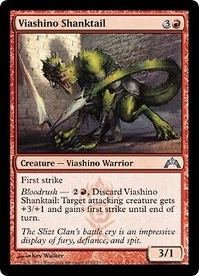MTG Magic GTC - (4x) Viashino Shanktail/Queue-angon viashino, English/VO