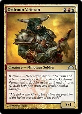 MTG Magic GTC - (4x) Ordruun Veteran/Vétéran ordruun, English/VO