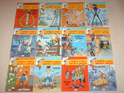 Comics 12 Lucky Luke Bände 80, 81, 82, 83, 84, 85 , 86, 87, 88, 89, 90 & 91 1A!